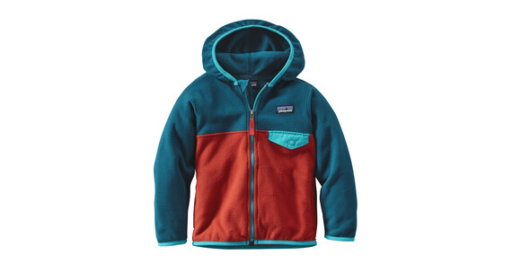 Patagonia Micro D Snap-T Jacket Babies Ramble Red
